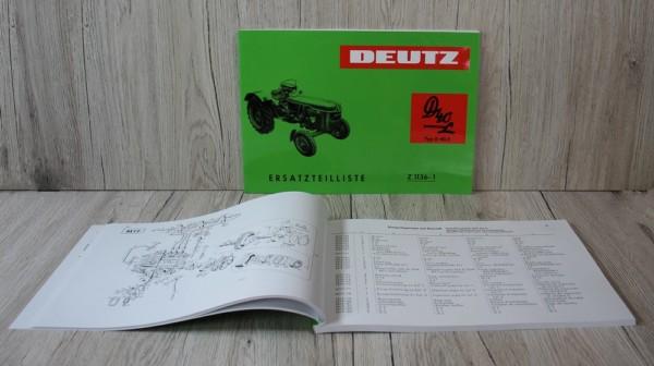 DE340 k DS Bild Deutz Nr DE340 ETL D40L D402 Motor F3L712 Z1136 1