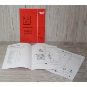 Deutz Stromlaufplan DX 4.10–DX 4.70 , DX 6.10-DX 6.50 , DX 7.10