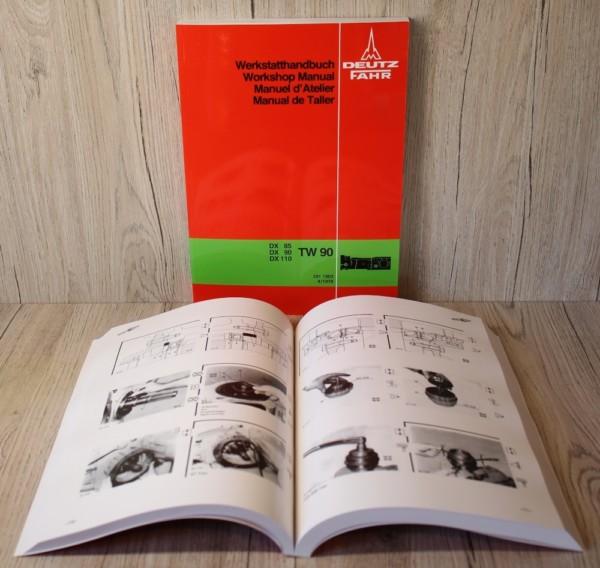 Deutz DX85 DX90 DX110 Werkstatthandbuch