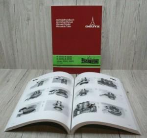 Deutz D2506-D5506 D5206 D6206 Intrac 2002 2003 Werkstatthandbuch