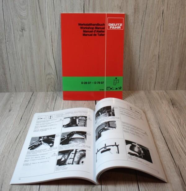 Deutz D2807-D7807 Werkstatthandbuch
