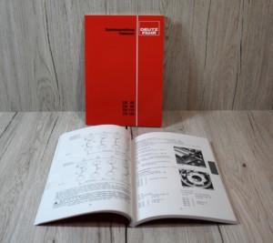 Deutz DX85 DX90 DX110 DX120 Bedienungsanleitung