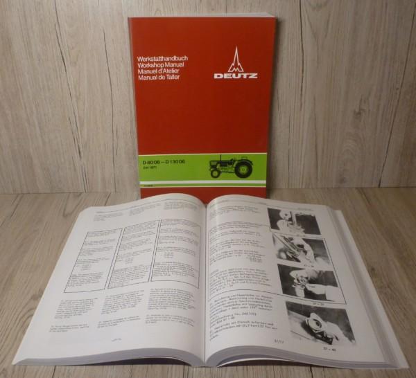 Deutz Werkstatthandbuch Fahrgestell D8006 D10006 D13006