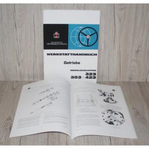 IHC Mc Cormick Werkstatthandbuch Getriebe 323-353-423