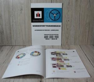 IHC Werkstatthandbuch Hydrolenkung 433-533-633-554-644-744-844-844S