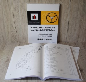 IHC 955+1055 Ersatzteilliste