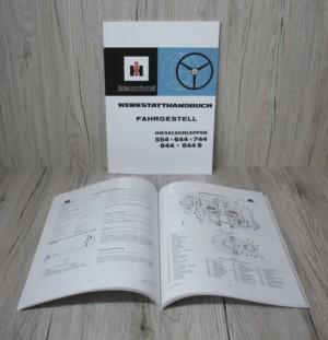 IHC 554+644+744+844+844S Werkstatthandbuch