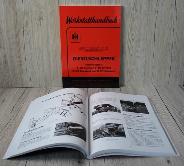 Mc Cormick Werkstatthandbuch DLD-2 D-212 D-214 D-217